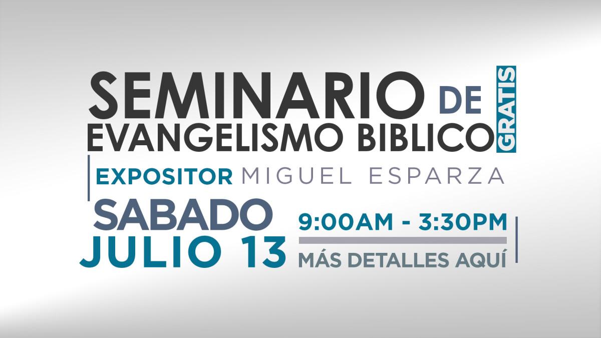 SEMINARIO DE EVANGELISMO BIBLICO