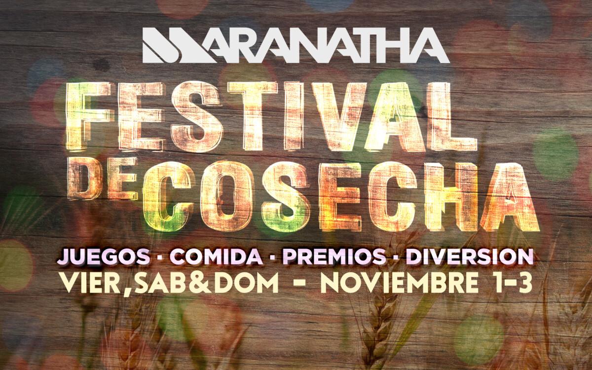 FESTIVAL DE COSECHA